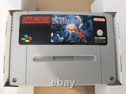 Terranigma Super Nintendo (SNES) Big Box OVP + Spieleberater Wie Neu Top