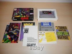 The Adventures of Batman & Robin Complete SNES Super Nintendo CIB Game
