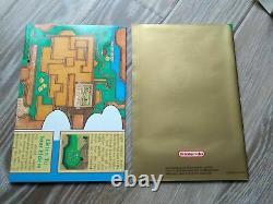 The Legend Of Zelda A Link To The Past PAL SNES Sticker sealed Super Nintendo
