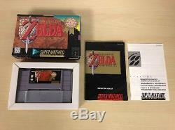 The Legend of Zelda A Link To The Past Super Nintendo CIB Complete SNES