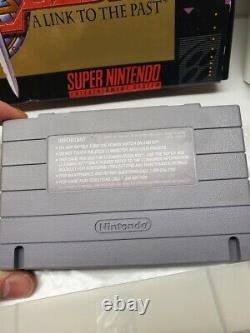 The Legend of Zelda A Link to the Past SNES Complete in Box with sealed Secrets