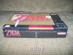 The Legend of Zelda A Link to the Past Super Nintendo SNES Video Game SEALED