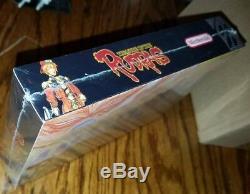 Treasure of the Rudras SNES Super Nintendo Timewalk Games New Sealed rare