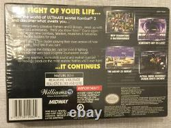 Ultimate Mortal Kombat 3 Super Nintendo SNES BRAND NEW FACTORY SEALED