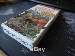 Undercover Cops SNES SuperNintendo Super Famicom Komplett Original