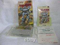 VALKEN SNES Super Famicom Nintendo Japan Video Games