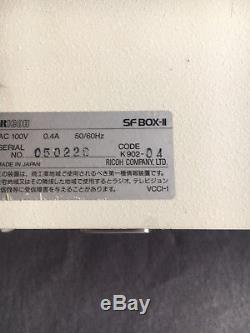 VERY RARE Super Nintendo SNES DEV kit RICOH SFBOX II Super Famicom Debugger
