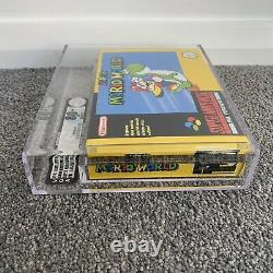 VGA GRADED 80+ NM Super Mario World Super Nintendo (SNES), AUS, PAL Game