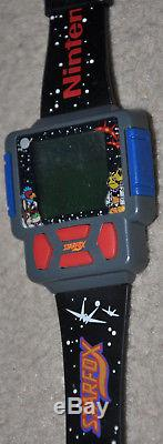VTG 90s Nintendo Watch collection Gameboy Super Mario Bros Star Fox SNES NES N64