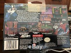 Venom-Spider-Man Separation Anxiety (Super Nintendo Entertainment System, 1995)
