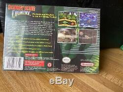 Vintage Donkey Kong Country (Super Nintendo SNES) NEW SEALED Unopened