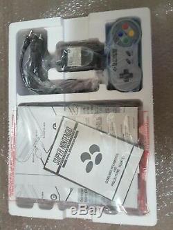 Vintage SNES Console Super Nintendo Entertainment System Brand New Boxed PAL