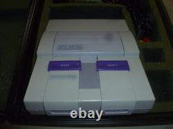 Vintage Video Rental Super Nintendo System Super Mario Allstars Game Hard Case