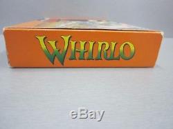 Whirlo Snes PAL Super Nes Super Nintendo (Completo)