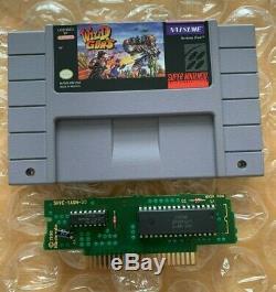 Wild Guns SNES (Super Nintendo Entertainment System, 1995) AUTHENTIC