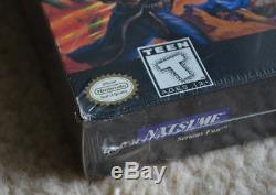 Wild Guns Super Nintendo SNES New Sealed Authentic Collector Grail