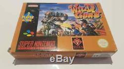 Wild Guns Super Nintendo SNES PAL Complete