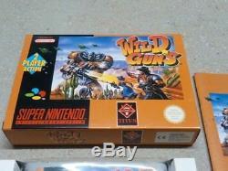 Wild Guns Wildguns SNES Super Nintendo PAL CIB MINT LIKE NEW Unbelievable