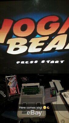 Yogi Bear Development Promo Cart Super Nintendo Snes Game Ultra Rare 1 In World