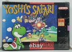 Yoshi's Safari Super Nintendo SNES New Factory Sealed