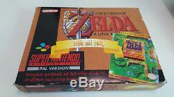 Zelda Gold Pack Big Box Holy Grail Super Nintendo Snes original