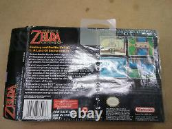 Zelda Link to the Past Super Nintendo SNES CIB Complete in Box