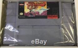 Zero the Kamikaze Squirrel (Super Nintendo) Snes CIB 100% Complete Very Rare