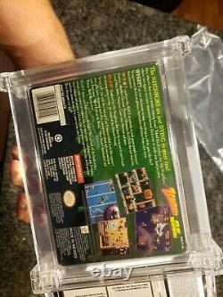 Zombies Ate My Neighbors Super Nintendo SNES WATA Graded RARE VARIANT ALTERNATE