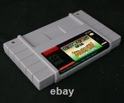 100% Cib Super Nintendo Nes Mario Set Snes Avec All-stars & World Printed Box Ver