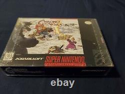 100% Complet Avec Carte D'inscription! Chrono Trigger (snes) Super Nintendo Cib