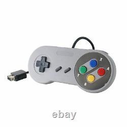 2x Nouveau 2017 Mini Super Nintendo Snes System Console Controller 6ft Control Pad