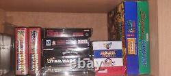 60 X Super Nintendo Snes Jeux Bundle Toutes Les Mintures Completées En Box