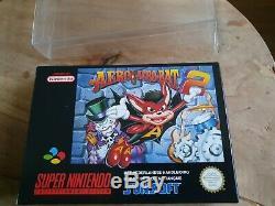 Aero Acrobat 2 Super Nintendo Snes Pal Cib Ultra Rare Nouveau