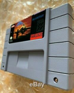 Aero Fighters Snes (super Nintendo Entertainment System, 1994) Authentique