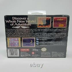 Aladdin Super Nintendo Entertainment System Snes Nouvelle Marque Scellée