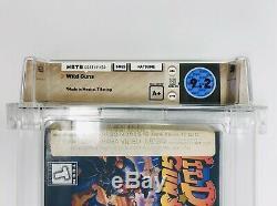 Armes À Feu Sauvage (snes Super Nintendo) Wata 9.2 A + Nouveau Etanche Mint, Unique Exemple