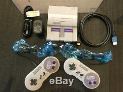 Authentique Snes Super Nintendo Classique Super Mini Entertainment System 21 Jeux