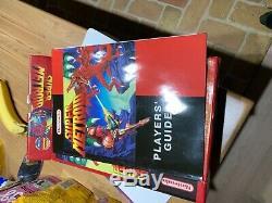 Authentique Super Metroid Prime (super Nintendo Snes) Pal