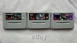 Aventures De Batman & Robin / Retours / Forever Super Nintendo Pal Rare Snes