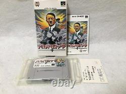 Barbarossa Boxed Nintendo Super Famicom Snes Japon Jeux Vidéo