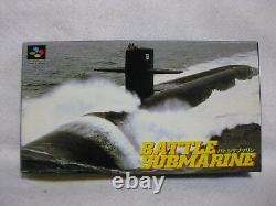 Bataille Submarine Super Famicom Snes Japon Jeu Sfc Nintendo Jeux Vidéo