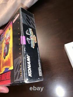 Biker Mice De Mars Snes Super Nintendo Box Seulement Pas De Jeu
