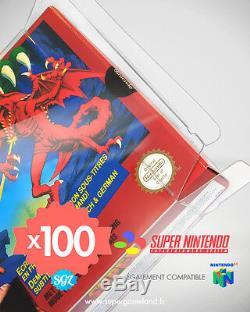 Boitiers Protection Case De Protection Super Nintendo Snes N64 0,4 mm Neufs