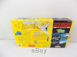 Boxed Super Nintendo Collector Limitée Super Mario All Stars Console Snes