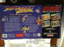 Boxed Super Nintendo Snes Street Fighter II Turbo Console