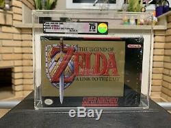 Brand New Scellé En Usine Zelda Super Nintendo Snes Vga 75