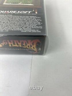 Breath Of Fire (super Nintendo Snes 1994) Authentic Brand New Factory Scellé