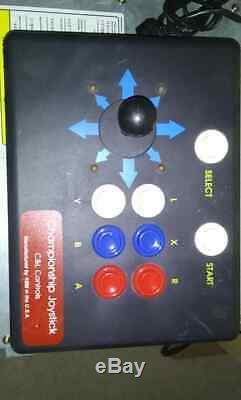C & L Controls Championnat Joystick Kbm Super Nintendo Snes Arcade Lutte Bâton