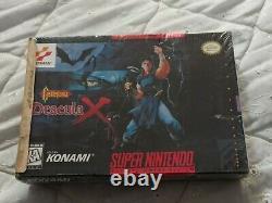 Castlevania Dracula X (super Nintendo Entertainment System, 1995) Brand New