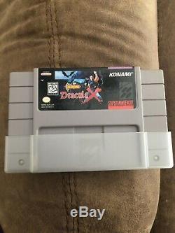 Castlevania Dracula X (système De Divertissement Super Nintendo, 1995)